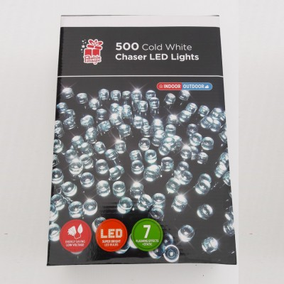 Cold white chaser lights 300 Indoor&outdoor use