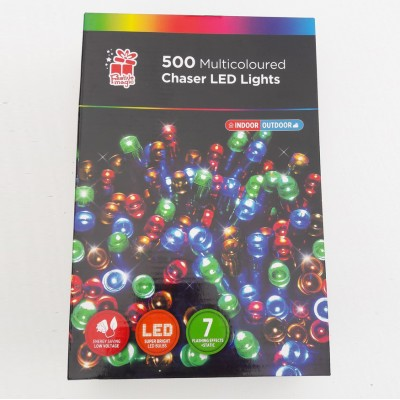 Multicolour chaser lights 500 Indoor&outdoor use